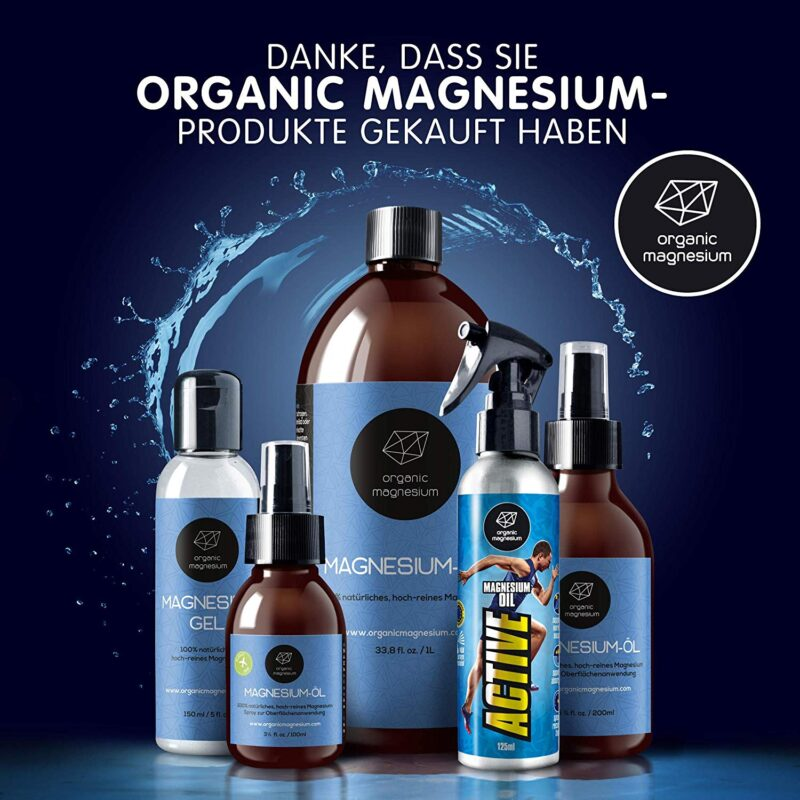 Magnesiumchlorid gibt es in vielen verschiedenen Formen. Als Spray, Gel oder Öl ist es gut für die transdermale Anwendung.